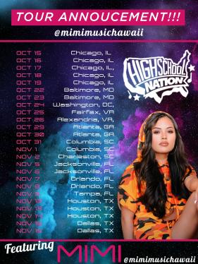 HSN Fall 2018 tour poster